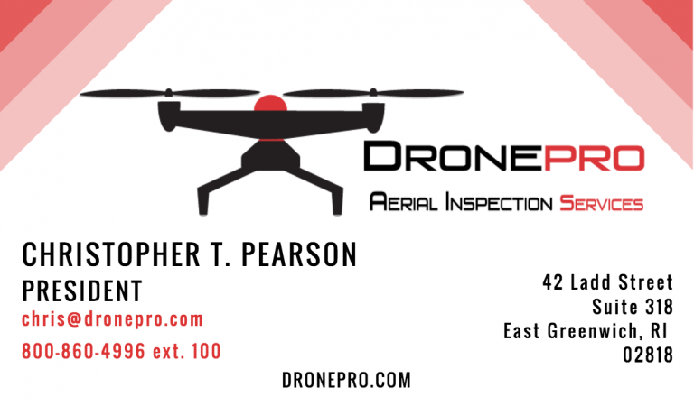 DronePro business card